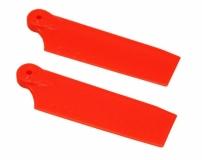 OXY Ersatzteil Heckrotorblätter orange 47mm für OXY 3