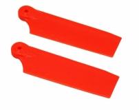 OXY Ersatzteil Heckrotorblätter orange 50mm für OXY 3