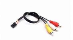 FatShark Adapterkabel 5-pol Molex / RCA TX AV (30cm)