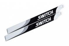 SwitchBlades Hauptrotorblätter Carbon 325mm