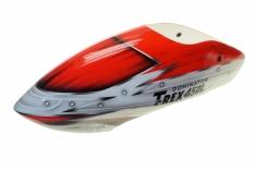 Fusuno Red Assasin Airbrushed fiberglass Haube für T-REX 450L Dominator
