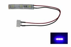 LED Rücklicht für FPV Racer mit 5mm LED spritzwassergeschützt in blau
