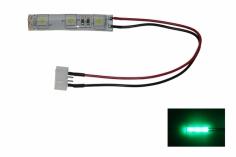 LED Rücklicht für FPV Racer mit 5mm LED spritzwassergeschützt in grün