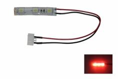 LED Rücklicht für FPV Racer mit 5mm LED spritzwassergeschützt in rot