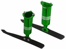 Rakonheli Ersatz Landegestell Alu grün für Blade 200QX und Rakonheli 250RQX