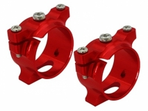 Rakonheli Ersatz Halterung in rot für Carbon Arme 2 Stück
