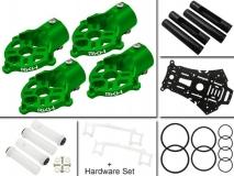Rakonheli Umbau-Set in grün vom 200QX zu 250RQX