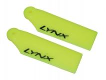 Lynx Heckrotorblätter 36mm gelb für Blade 180CFX