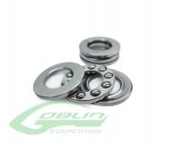 Drucklager 3x6x2.5 für Hauptrotorblatthalter 2 Stück für Goblin 420/630/700