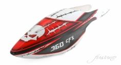Fusuno Masky Airbrush fiberglas Haube für Blade 360CFX
