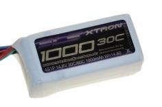 SLS Akku XTRON 1000mAh 4S1P 14,8V 30C/60C