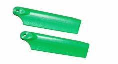 OXY Ersatzteil Heckrotorblätter grün 47mm für OXY 3