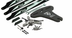 OXY Ersatzteil 3-Blatt Rotorkopf Komplet-Set für den OXY3
