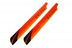 Blade Hauptrotorblätter in orange für Blade 230 S und 230 S V2