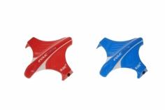 Blade Ersatzteil Inductrix Kabinenhauben Set rot und blau