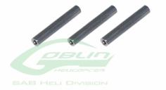 Rahmen Abstandshalter aus Alu 26mm für Goblin 500, 3 Stück