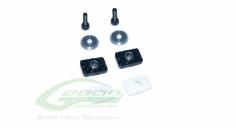 Carbon Heckrohr Befestigungs-Set für Goblin 570