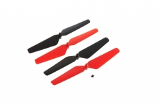 Ersatzteil Propeller Set rot für Ominus Quatrocopter