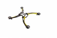 Ersatzteil Hauptrahmen gelb für Ominus Quatrocopter