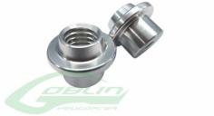 Kabinenhaubenverschluss Innenteil Aluminium 2 Stück für den Goblin 500