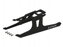 Lynx Landegestell ultra flexibel in schwarz für Blade 180CFX