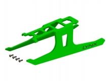 Lynx Landegestell ultra flexibel in grün für Blade 180CFX