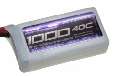 SLS Akku Xtron 1000mAh 3S1P 11,1V 40C/80C