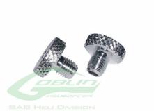 Kabinenhaubenverschluss Aluminum  2 Stück für den Goblin 500