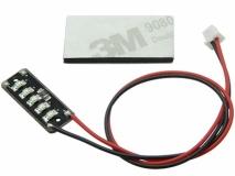 Micro SMD LED Beleuchtung in weiß für 1S Akkus 3,7Volt