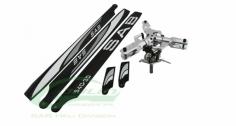 HPS3 Rotorkopf 3-Blatt mit Rotorblätter für Goblin 380