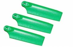 OXY Ersatzteil Heckrotorblätter grün 47mm für das 3 Blatt Heck für den OXY 3