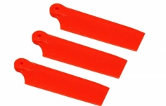 OXY Ersatzteil Heckrotorblätter orange 47mm für das 3 Blatt Heck für den OXY 3
