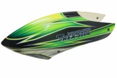 Fusuno Samrock Airbrush fiberglas Haube für T-REX 500L