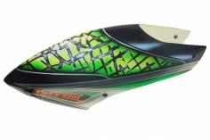 Fusuno Green Salaca Airbrush fiberglas Haube für T-REX 500L