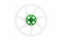 Rakonheli Hauptzahnrad Delrin mit Alu Nabe in grün für Blade 230s