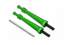 Rakonheli Kabinehaubenhalter Alu in grün für Blade 230s