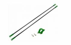 Rakonheli Heckstreben Carbon/Alu in grün für Blade 230s