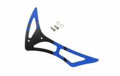 Rakonheli Leitwerk Set aus Carbon in blau für Blade 230s und 250CFX