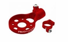 Rakonheli Heckmotorhalterung Alu in rot für Blade 230s und 250CFX