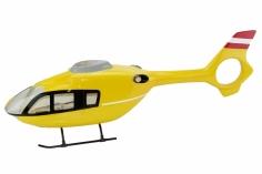 450er Rumpf Eurocopter EC 135 in gelb Österreich Edition