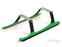 Fusuno Carbon Landegestell grün für Blade 180CFX