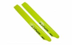Lynx Hauptrotorblätter 240mm gelb für Blade 230 S und 230 S V2
