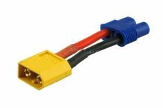 Adapter mit XT60 Stecker und EC3 Buchse