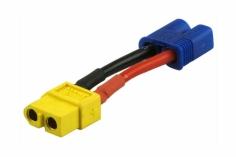 Adapter mit XT60 Buchse und EC3 Stecker