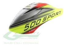 Kabinenhaube gelb für den Goblin 500 Sport