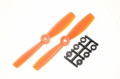 HQ Propeller Bullnose Glasfaser verstärkt orange 5x4,5 2 Stück ccw
