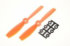 HQ Propeller Bullnose Glasfaser verstärkt orange 5x4,5 2 Stück cw