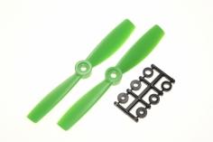 HQ Propeller Bullnose Glasfaser verstärkt grün 5x4,5 2 Stück ccw