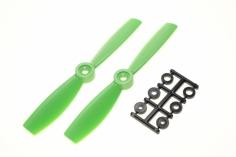 HQ Propeller Bullnose Glasfaser verstärkt grün 5x4,5 2 Stück cw