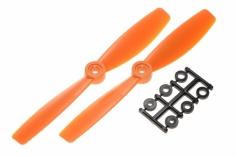 HQ Propeller Bullnose Glasfaser verstärkt orange 6x4,5 2 stück ccw